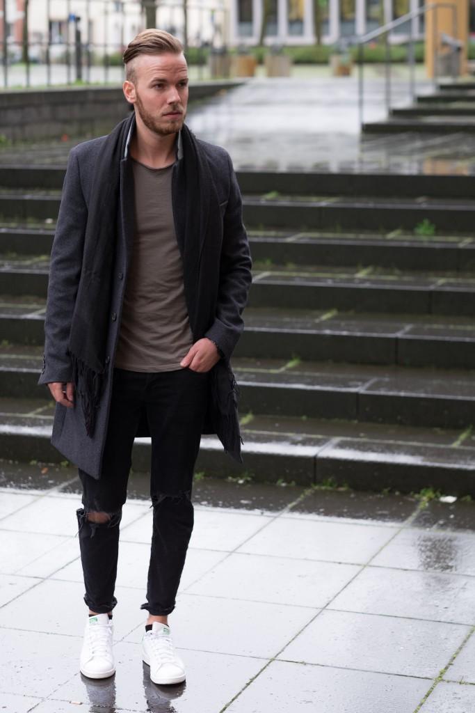 Winteroutfit von Zara und ASOS Fashionblog für Männer