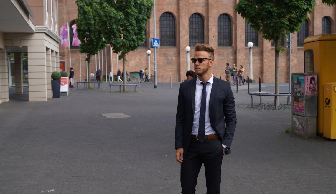 Trier Basilika Herren Fashionblog Fashionblogger Männer