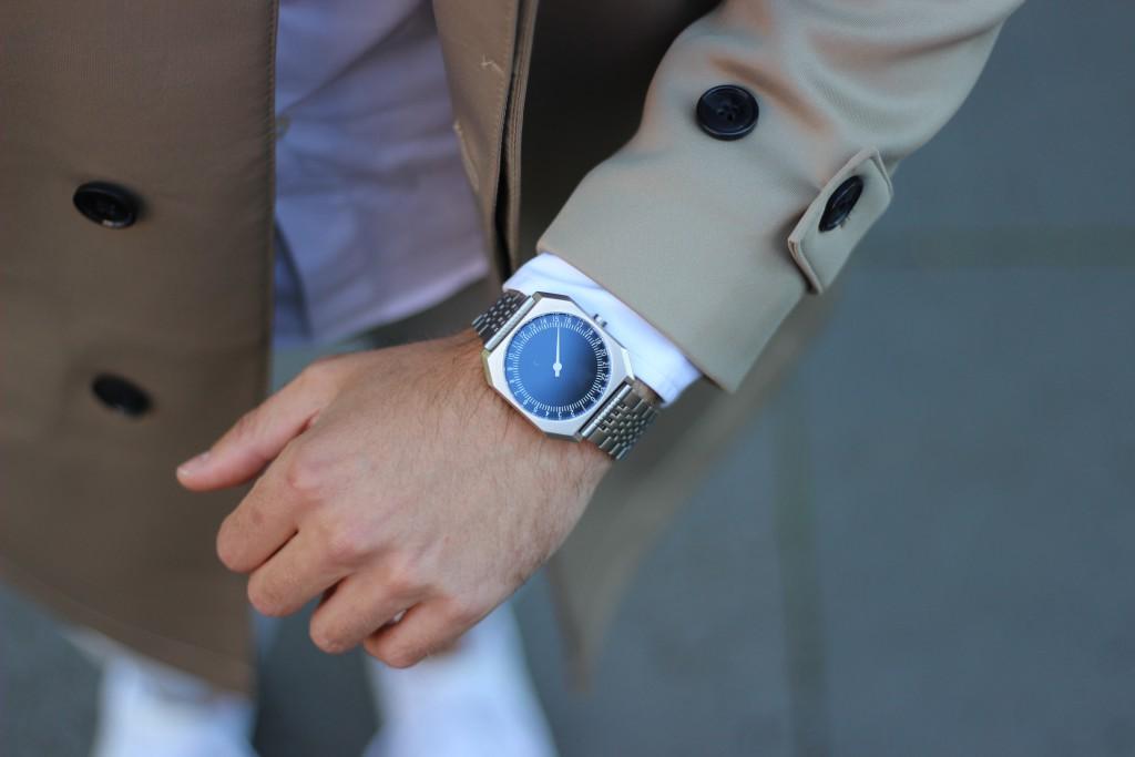 Slow watches slow watch slowwatch slowwatches trenchcoat von zara
