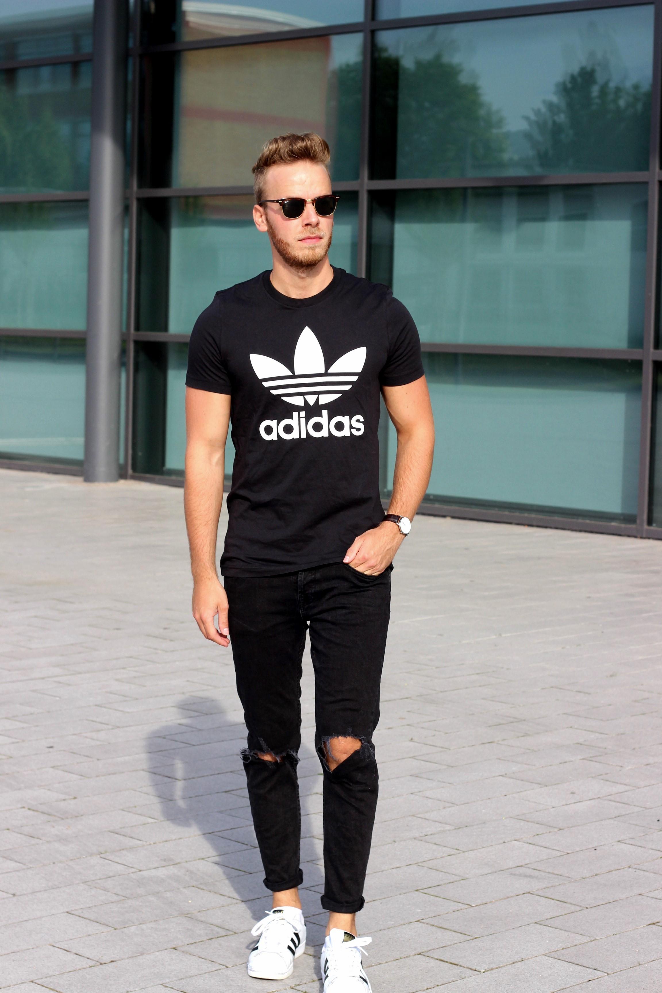 Adidas Superstar Herren Outfit Ohne-papa.de