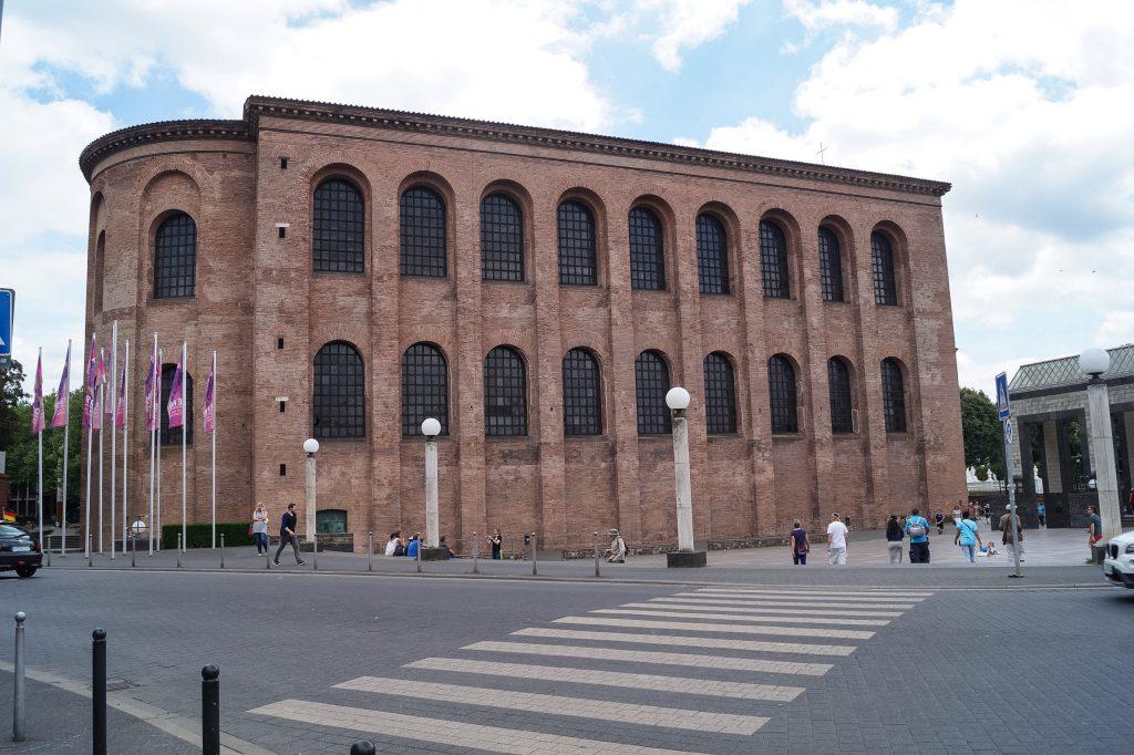 Basilika Trier Travel Blog