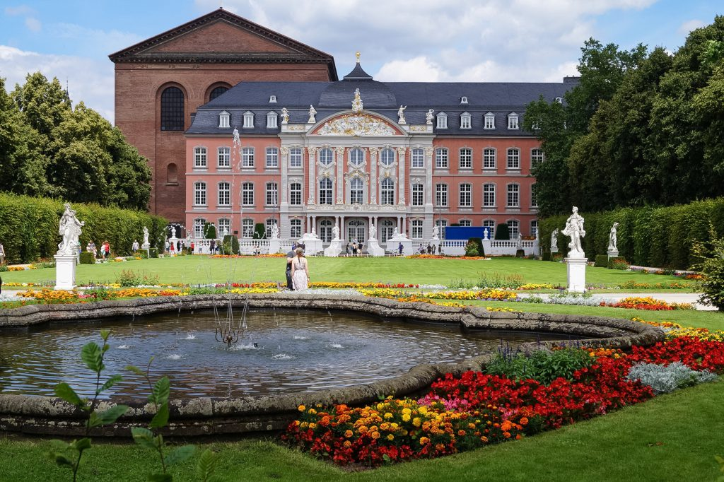 Palast Trier Germany Travel Blog