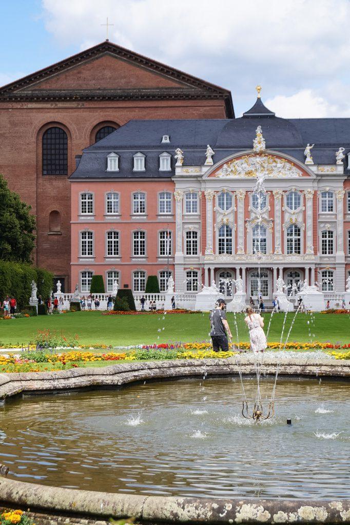 Palastgarten Trier Travelblog