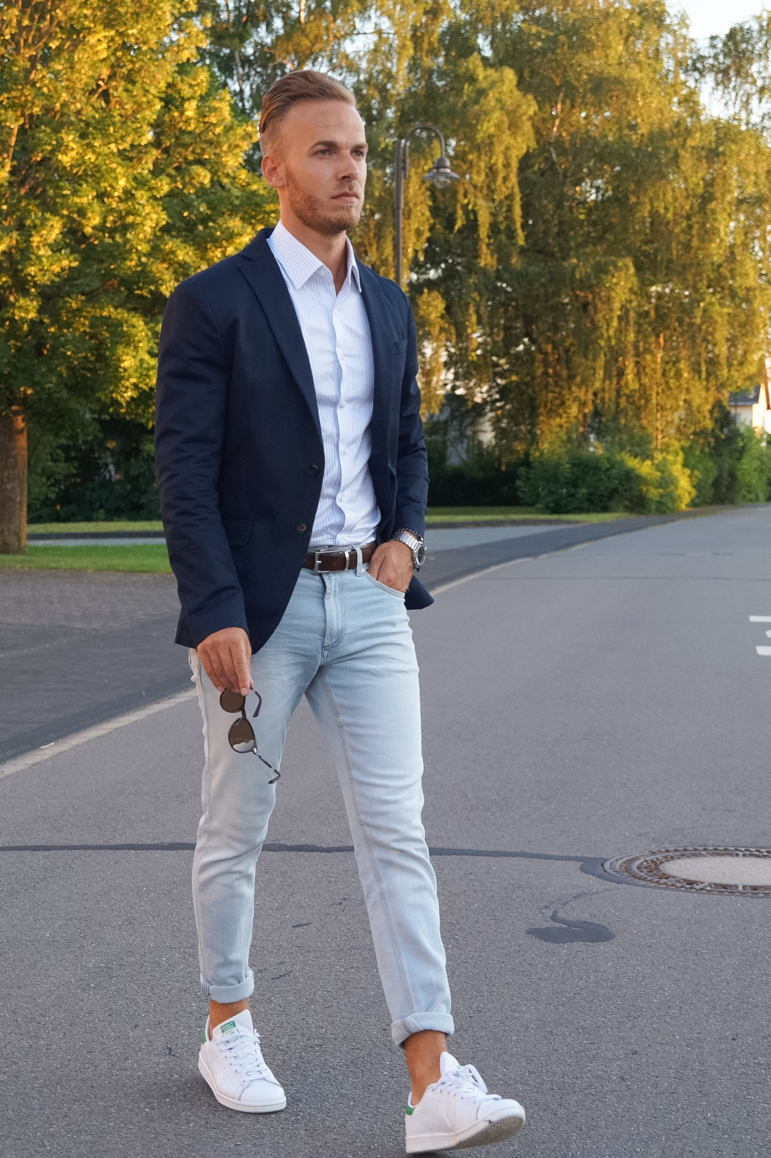OUTFIT – Blazer & Jeans