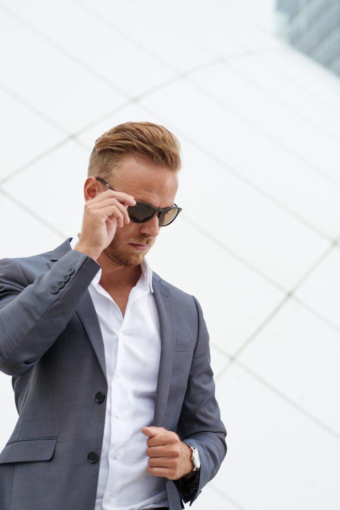 Dapper Streetlook Sunglasses Glasses Sonnenbrille Fashion Blog