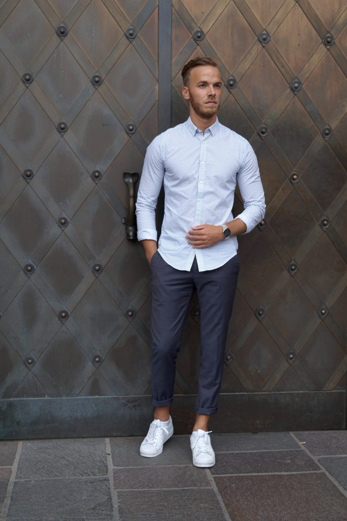 Mens Fashion Blog Outfit Alba Moda Casual Streetlook