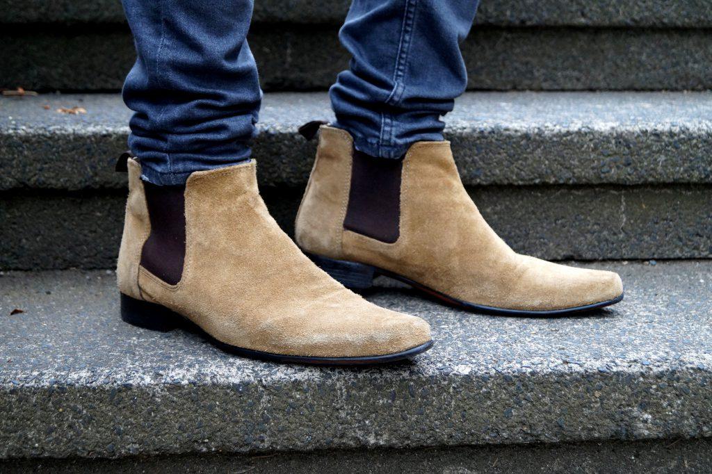 Chelsea Boots mensfashion beige blog fashion