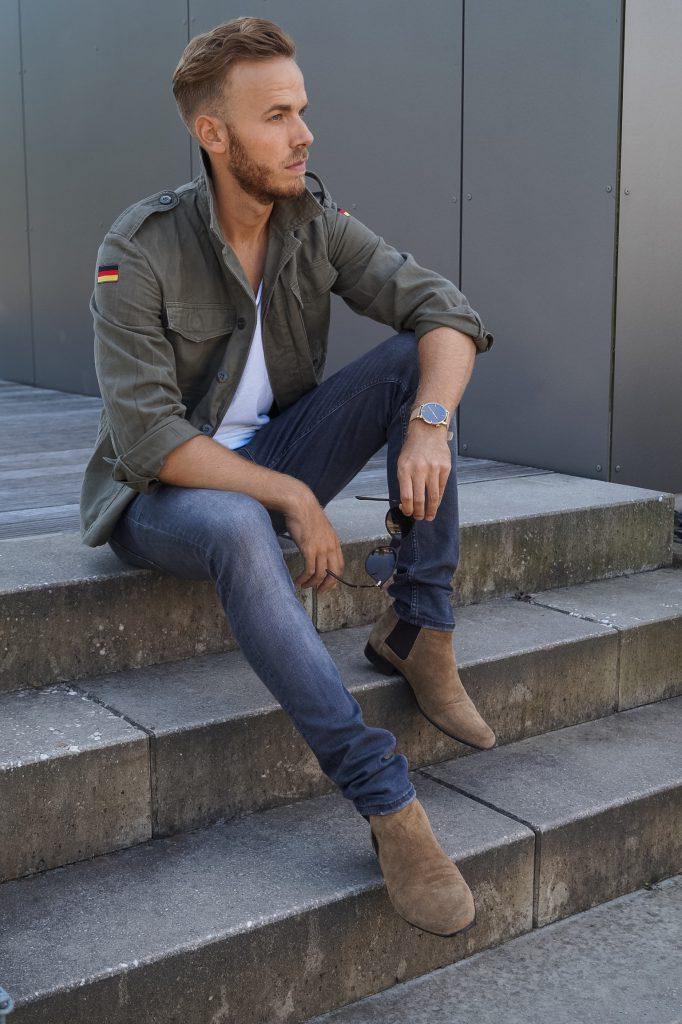 Bundeswehr Jacke Military Jacket Militär Fashion Blog Blogger