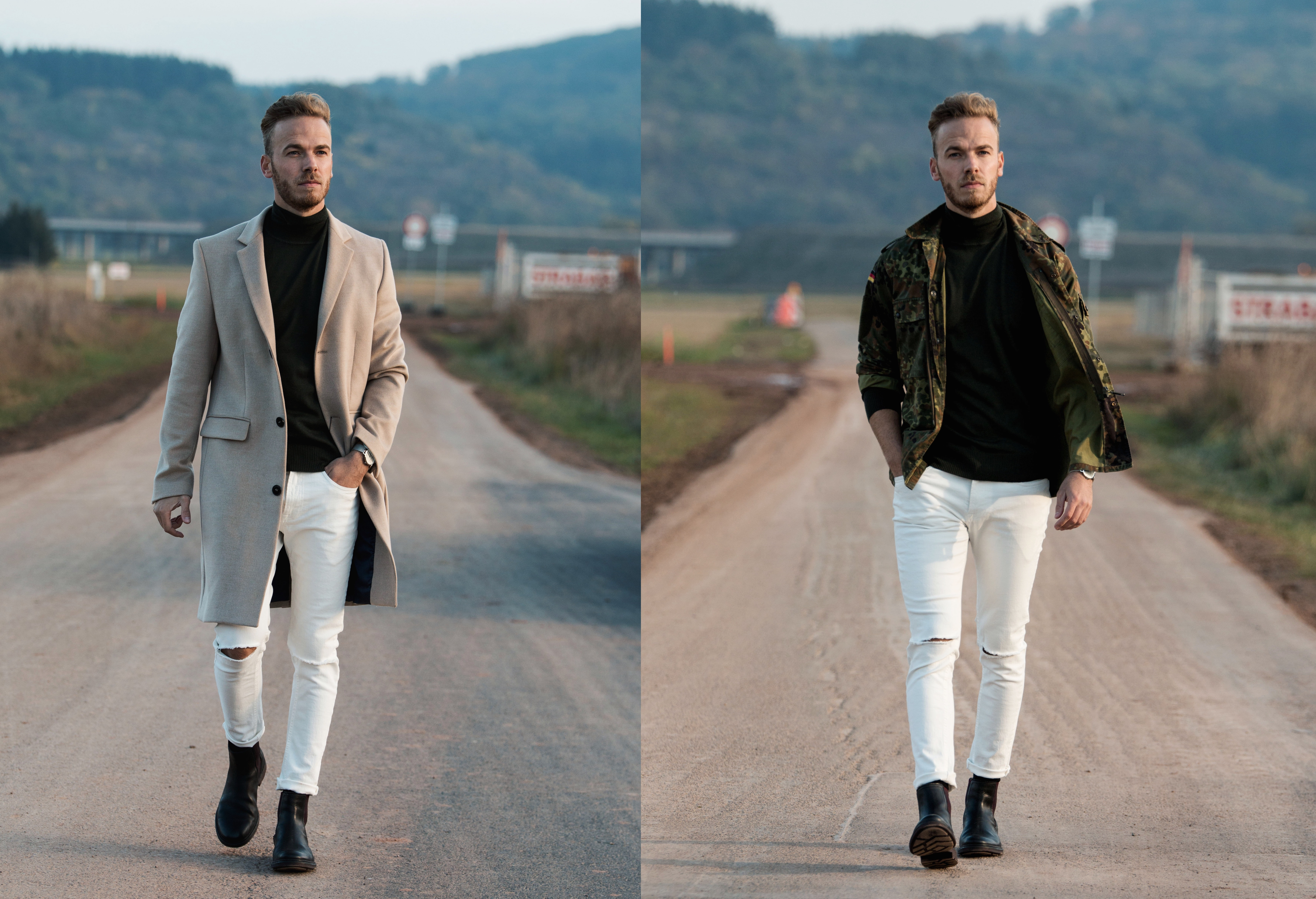 Outfit – Military Jacket or Coat?