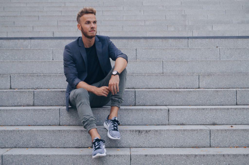 Bikerhose Blazer Fashionblog Herren Männer