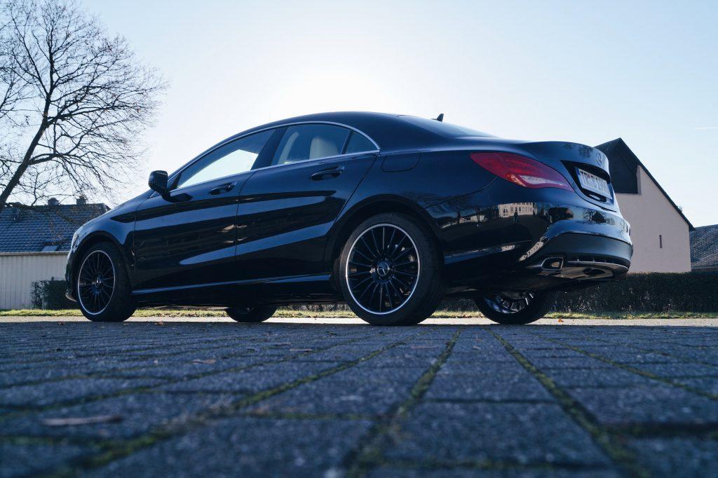 Autopflege Herrenfahrt Mercedes-Benz CLA Style and Fitness