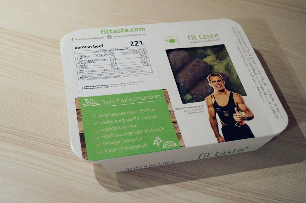 Fitnessblog Männer Fitnessblogger Herren Fitnessfood Blogger Fitness Blog Fittaste Test
