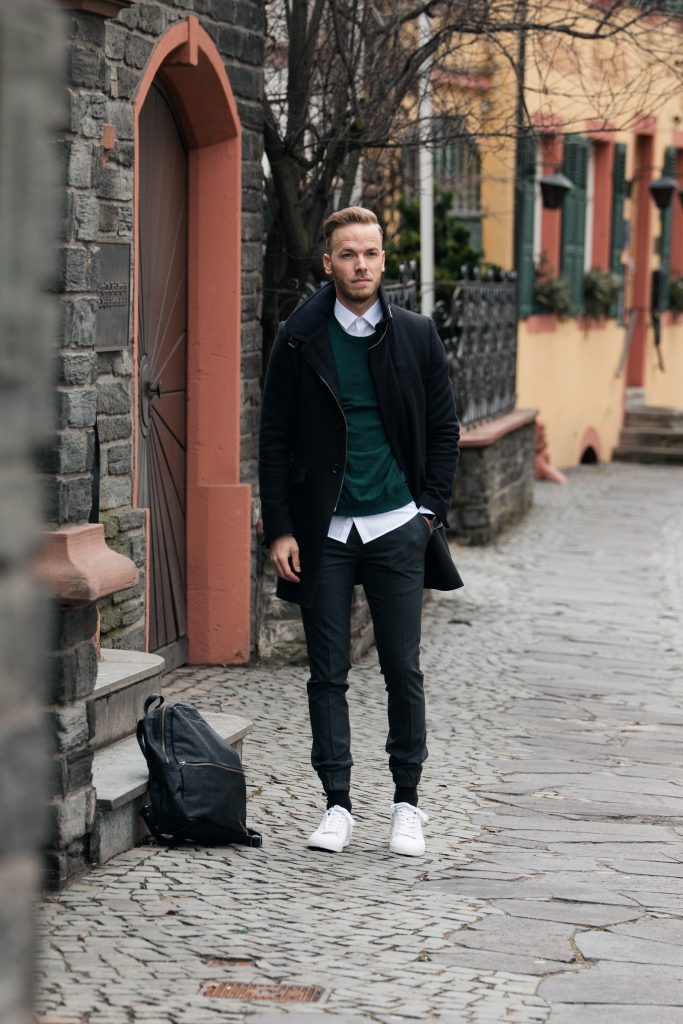 Mode für Männer Fashion für Herren Blog Blogger Eterna modern casual outfit eterna tommy hilfiger fashionblog