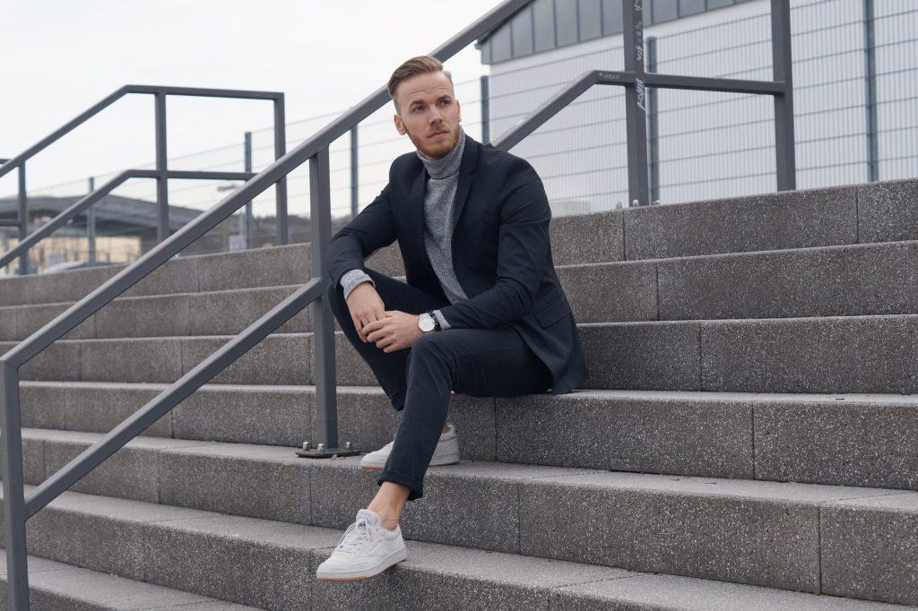 OUTFIT - Blazer & Turtleneck Esprit Rollkragen Pullover Sakko Blogger Blog Trier wittlich bernkastel eventum bernd hower