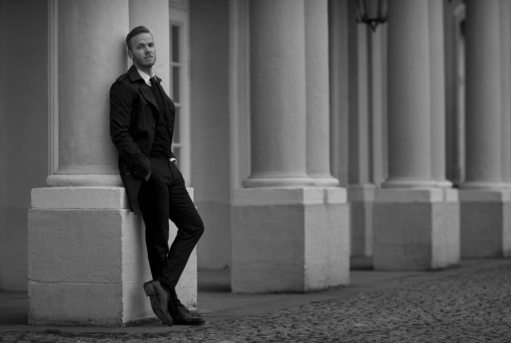 Outfit Black Classic Look Bernd Hower berndhower blog blogger fashion trier palais luxembourg luxemburg