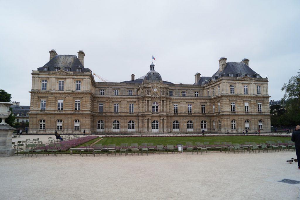 Jardin du luxembourg palais du luxembourg luxemburgergarten Paris