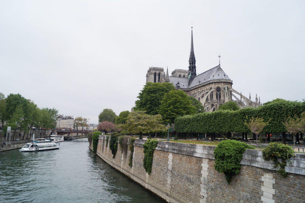 Kathedrale Notre Dame Paris Seine