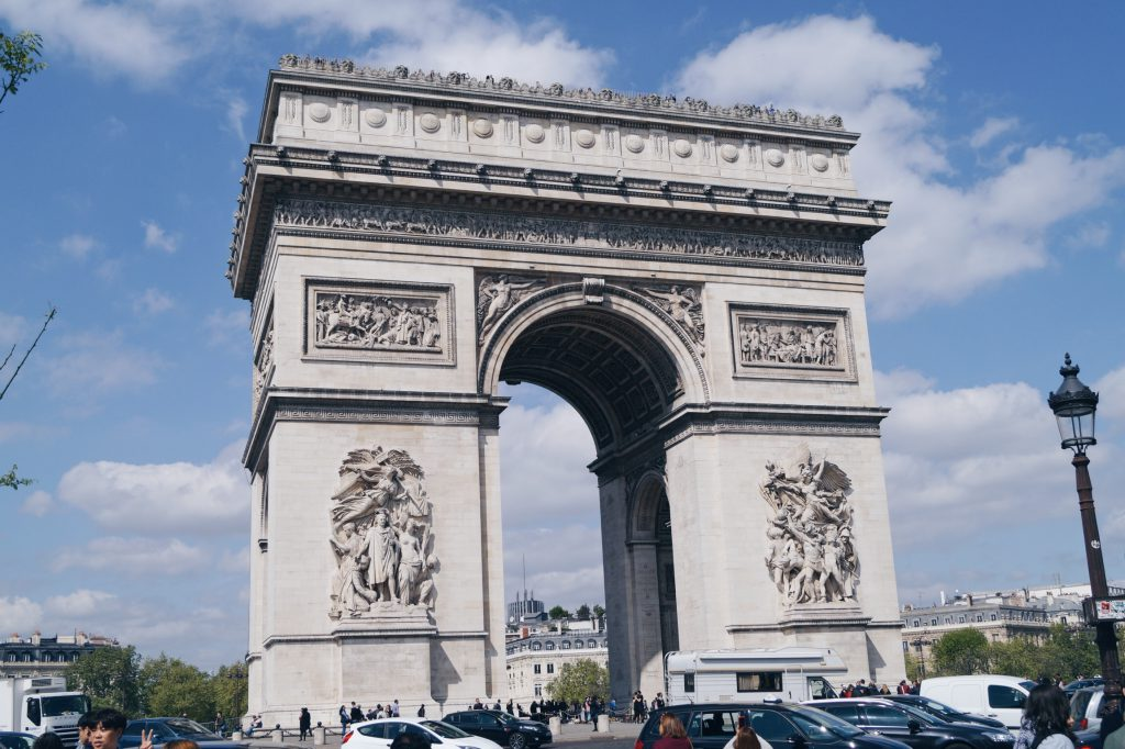 TRAVEL PARIS CITYTRIP Arc de Triomphe Frankreich