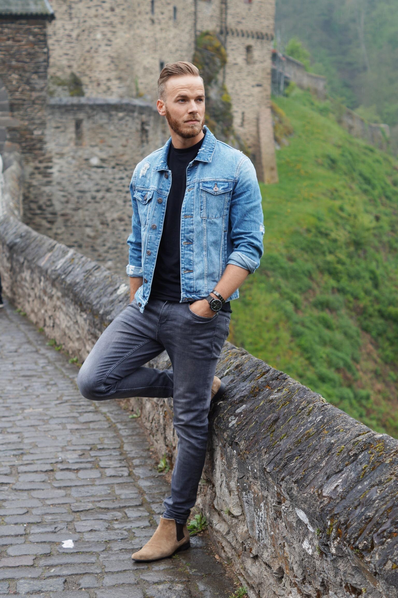 the best attitude a2bbe eefe9 FASHION - Jeansjacke richtig kombinieren - Lifestyle-Blog ...
