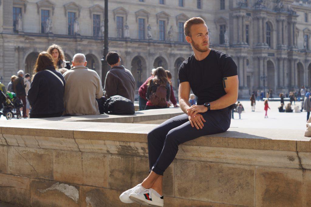 Mens spring suit paris blog blogger style and fitness herren männer mode