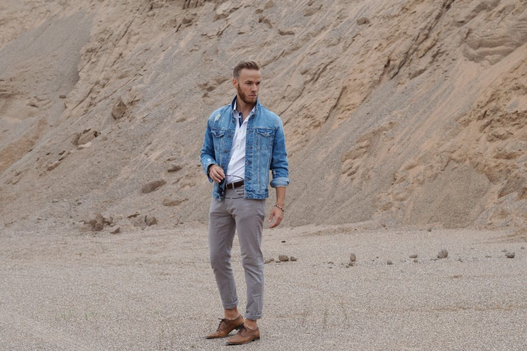 OUTFIT - Casual Sommerlook Jeansjacke Fashionblog Blogger Blog Fashion Männer Herren