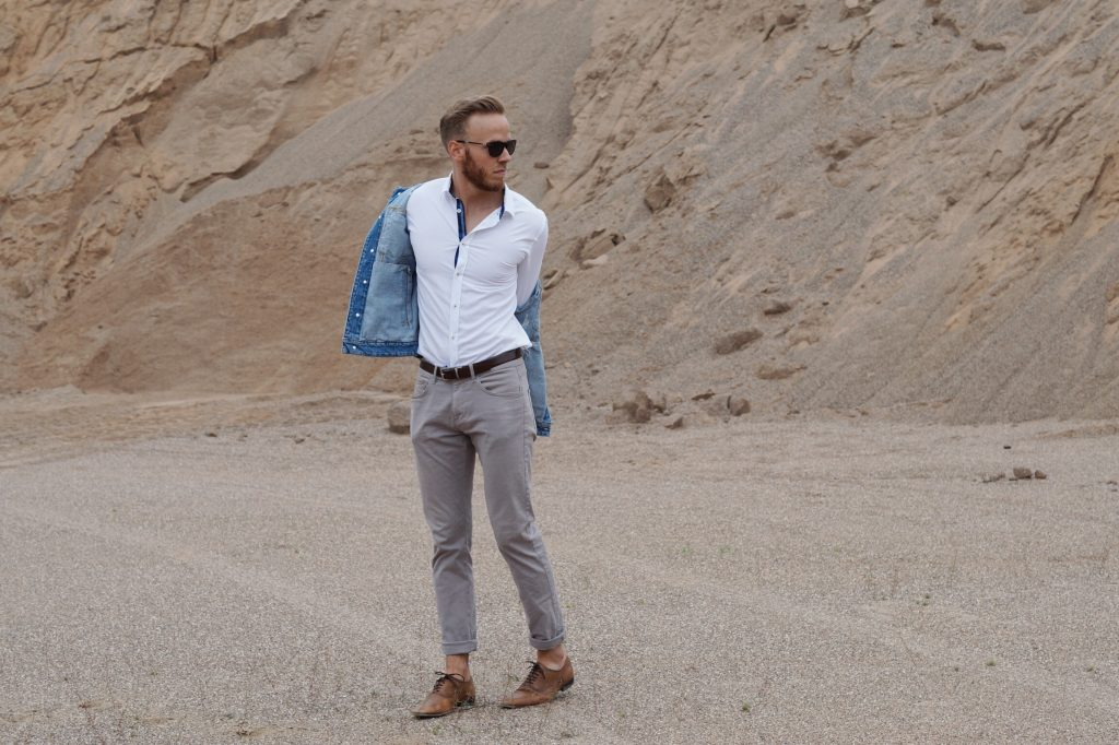 OUTFIT - Casual Sommerlook Jeansjacke Fashionblog Blogger Blog Fashion Männer Herren