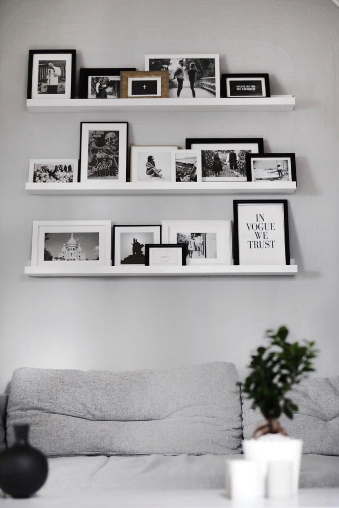 Interior - Bilderwand mit Pixum Photowall Interior Design Style and Fitness Blog Blogger Deutschland Inneneinrichtung Wohnung Design