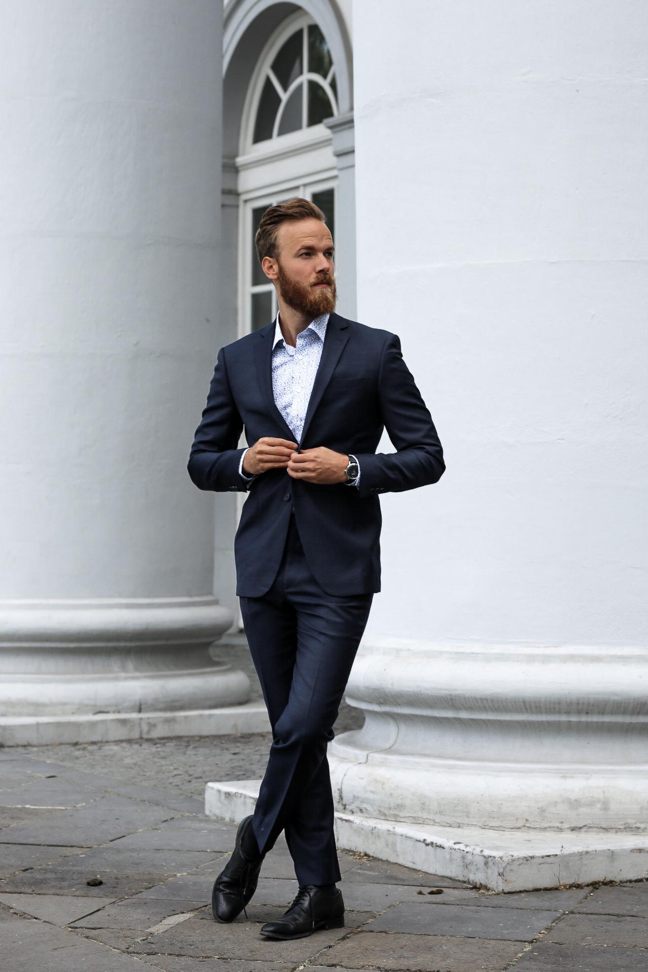Fashion Modern Business Outfit Fashionblog Fur Herren