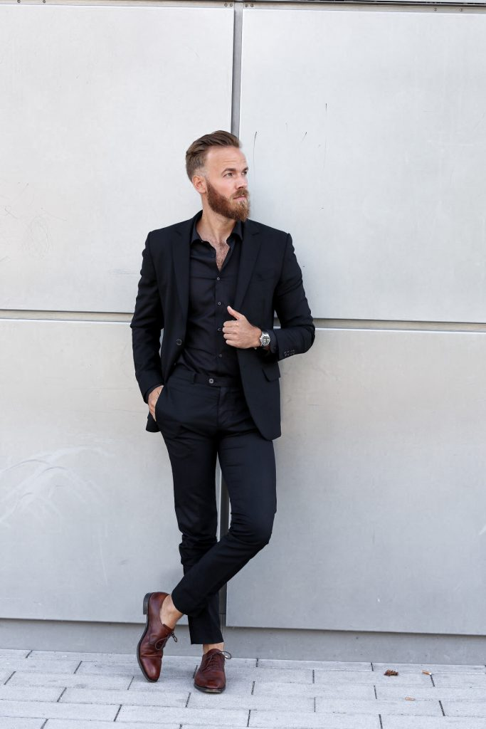 FASHION - Black Business Look by Eterna Businesslook Ouftfit herren blogger fashion blog men's Berndhower Bernd Hower trier luxembourg
