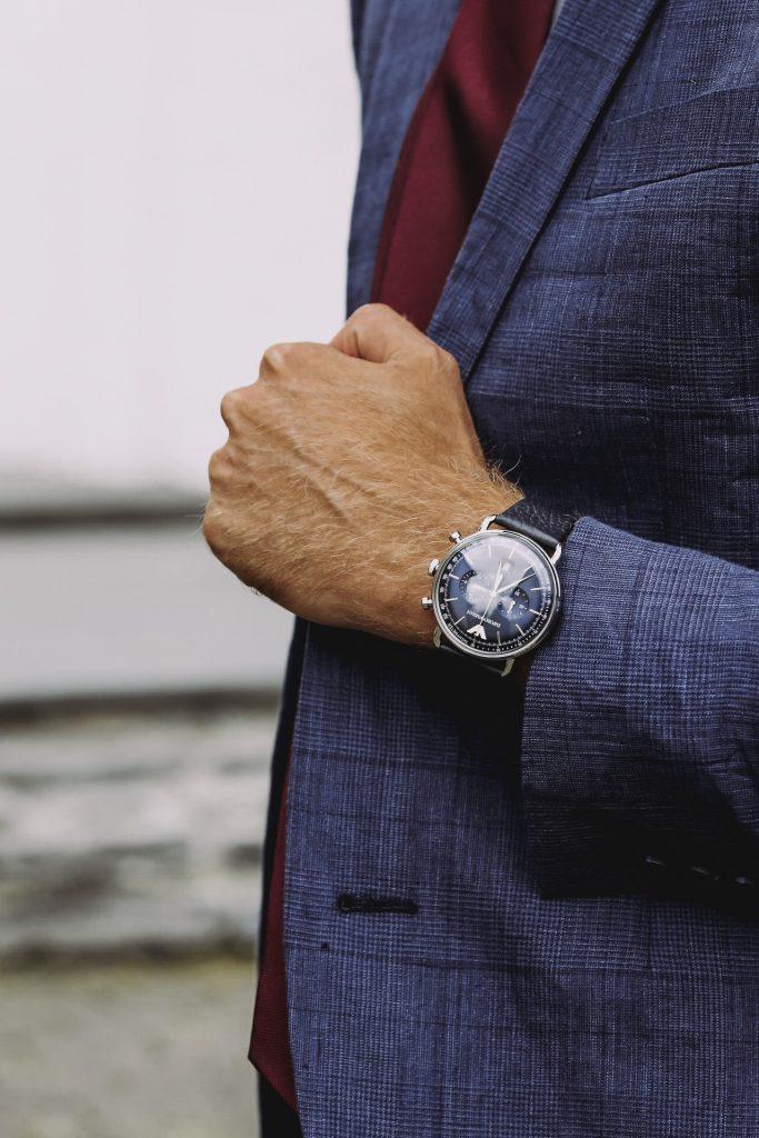 FASHION - Businesslook mit Emporio Armani Uhrcenter Armbanduhr Herren Frauen Blog Mode Trier Luxemburg Blogger