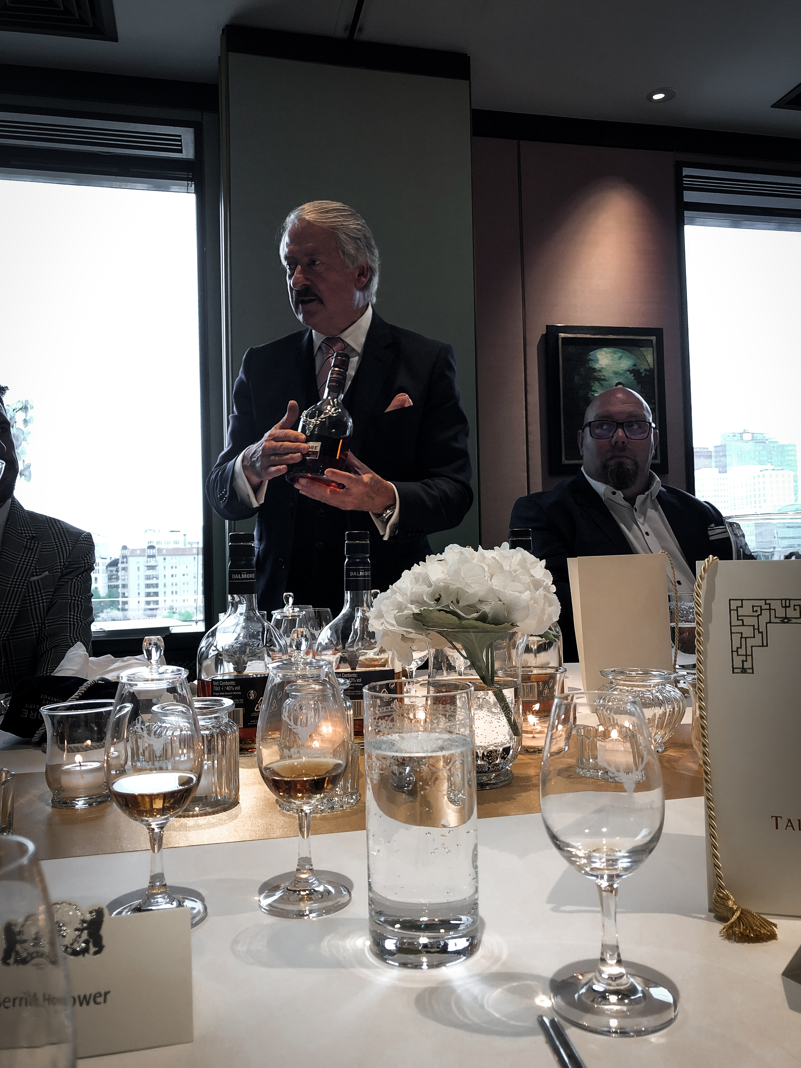 The Royal Feast The Dalmore Whisky Tasting Richard paterson China Club Berlin Blogger