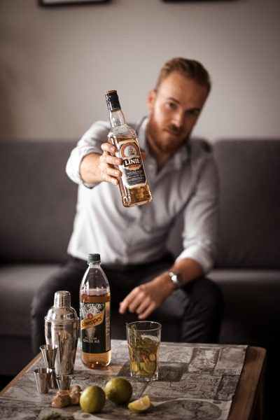 MIX WAS NEUES - entdecke LINIE Aquavit mit Schweppes trink Drinks blogger berndhower Bernd Hower blogger_de Deutschland blogger