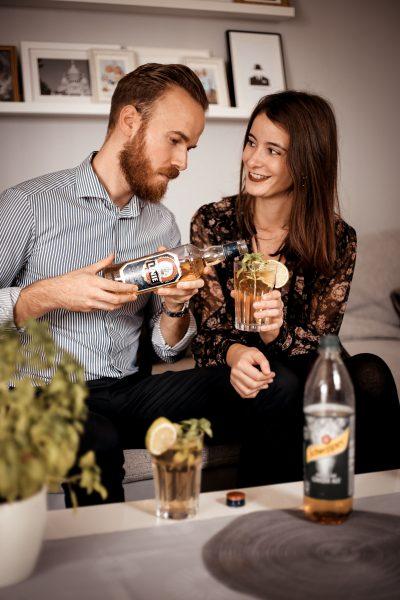 MIX WAS NEUES - entdecke LINIE Aquavit mit Schweppes trink Drinks blogger berndhower Bernd Hower blogger_de Deutschland blogger