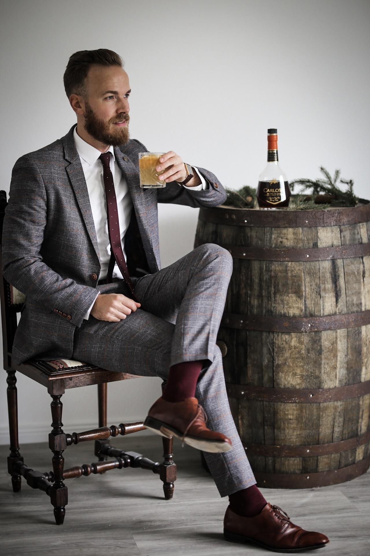 Edle Cocktails mit CARLOS I // Adventskalender-Gewinnspiel Brandy Cocktail Weinbrand Jerez Blogger Trier Koblenz Influencer