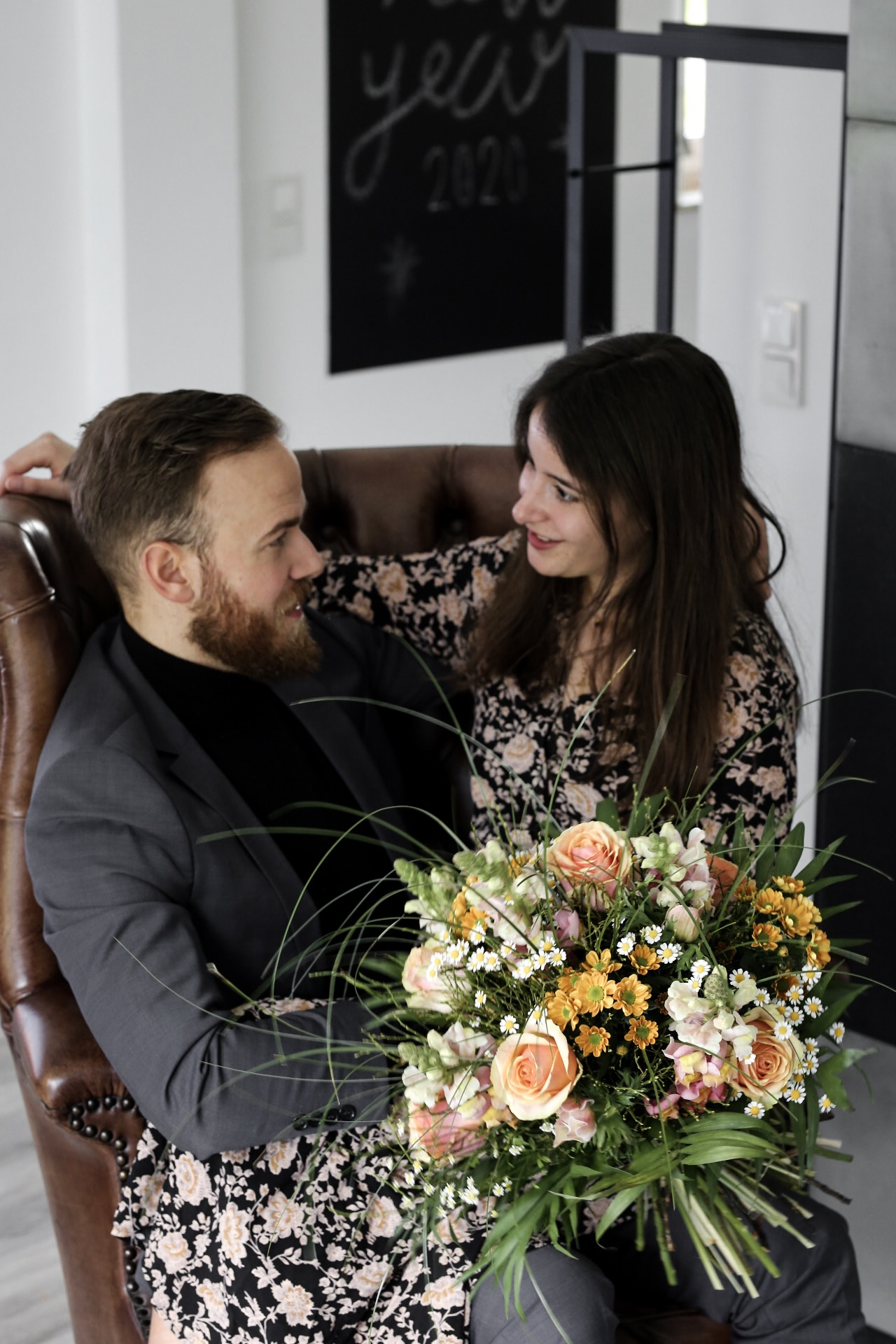 """""""Danke"""" sagen mit Fleurop Blumen zum Valentinstag Blumen zum Valentinstag Rosen zum Valentinstag Blumen von Fleurop"""