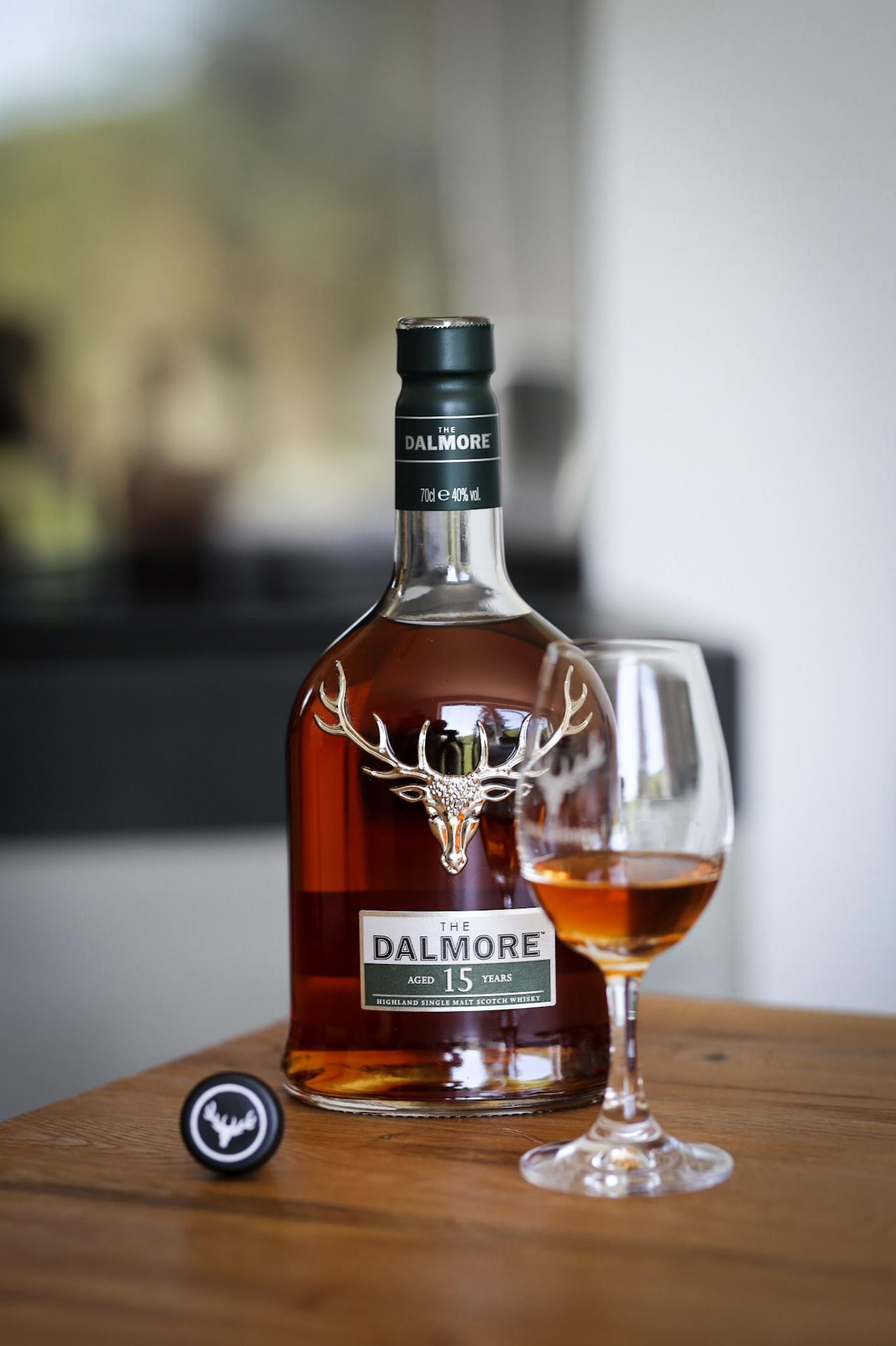 The Dalmore 15 YO - Single Malt Whiskey aus den Highlands Tasting Whisky 12 Jahre 15