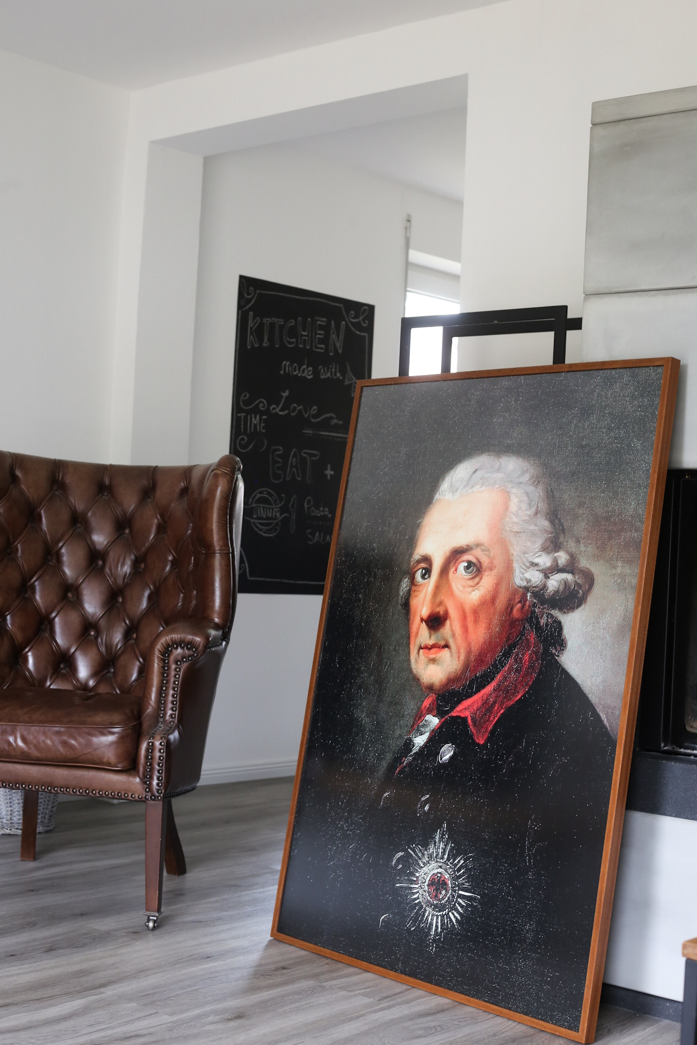 König Friedrich II. Poster Friedrich der Große Leinwand Posterlounge Wandbild König von Preußen der alte Fritz