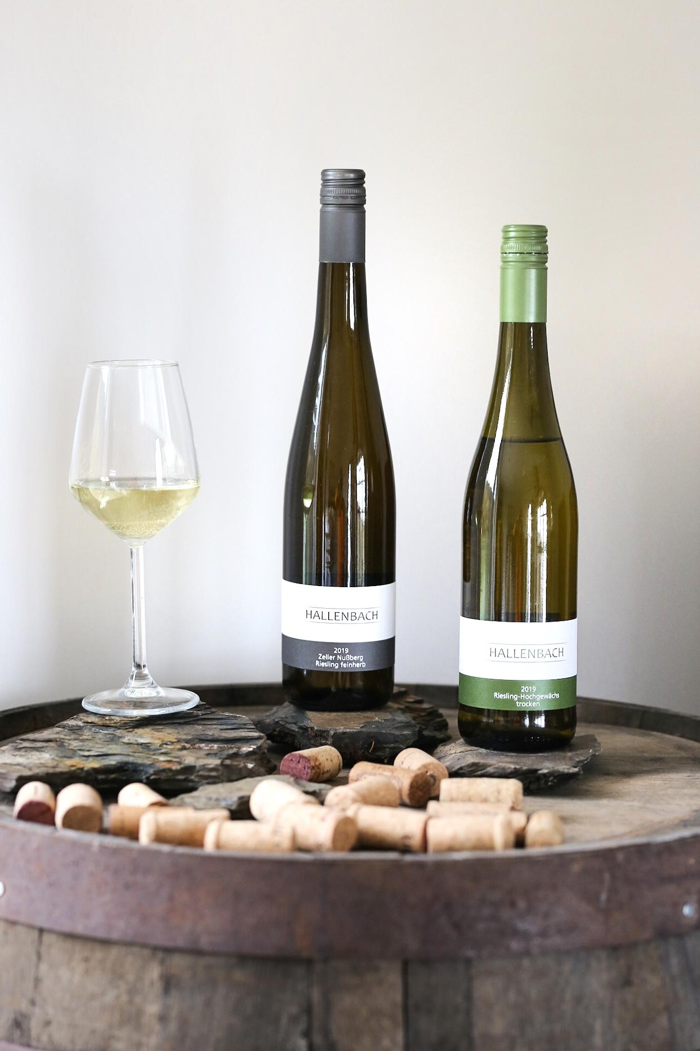 Wein, Urschiefergestein und Mineralik - Weingut Hallenbach aus Zell